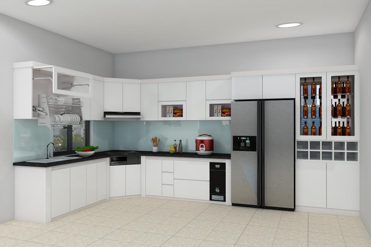 Đơn vị thiết kế tủ bếp tại Vinh uy tín – chất lượng